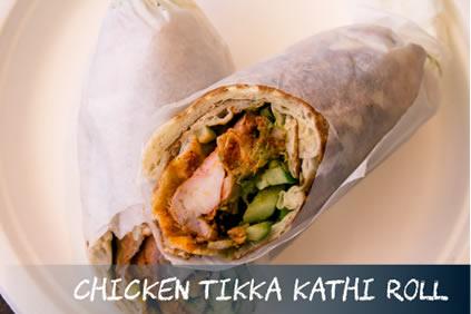 Chicken Tikka Kathi ROll