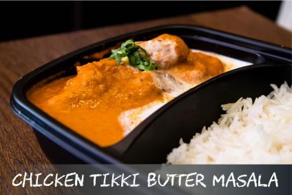 Chicken Tikki Butter Masala